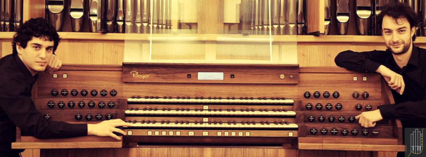 Luca Lavuri e Massimiliano Girardi - Sargas duo - Rieger Orgel